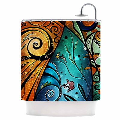 Sea Dance Shower Curtain