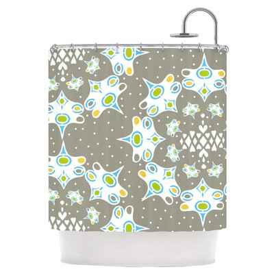 Ornamental Splash Shower Curtain