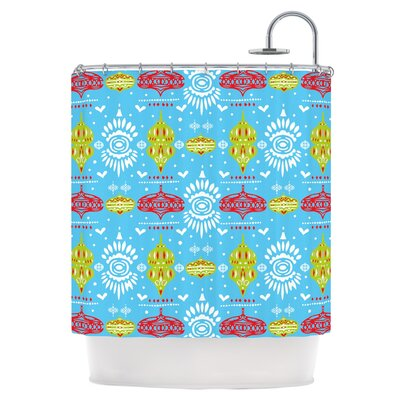 Deco Row Shower Curtain