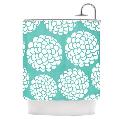 Hydrangeas Blossoms Shower Curtain