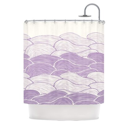 The Lavender Seas Shower Curtain