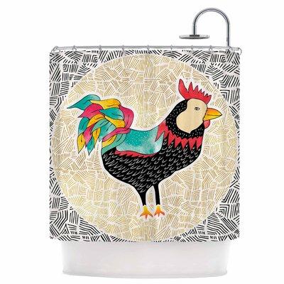 Cuckaroo Rooster Shower Curtain