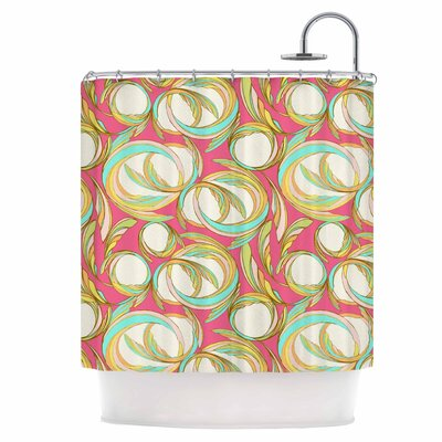 Circle Sings Shower Curtain