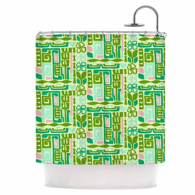 Maze Shower Curtain