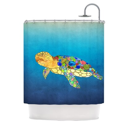Bubbles Shower Curtain