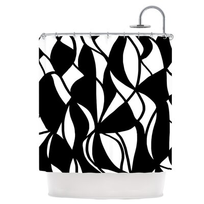 Sinuous Shower Curtain