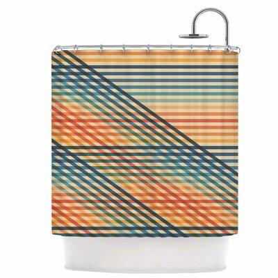 Ovrlaptoo Shower Curtain