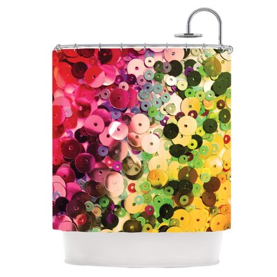 Spots Shower Curtain