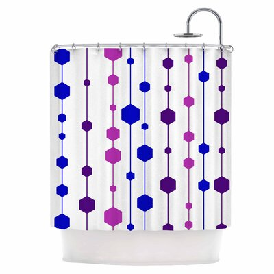 Cool Dots Shower Curtain