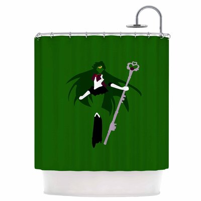 Pluto Senshi Shower Curtain