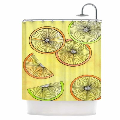 Lemons and Limes Shower Curtain
