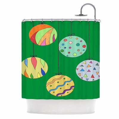 Trim The Tree Shower Curtain