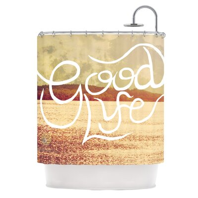 Good Life Shower Curtain