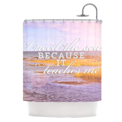 I Need The Sea Shower Curtain