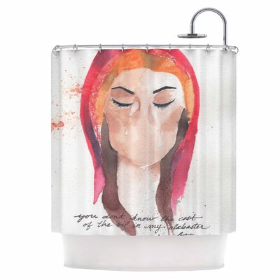 Mary Magdelene Shower Curtain