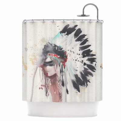 Warrior Bride Shower Curtain
