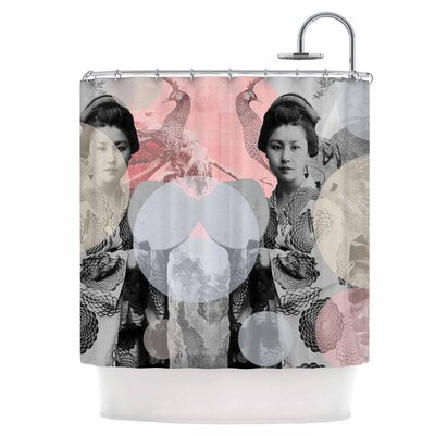Kyoto Girl Shower Curtain