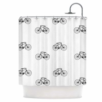 Vintage Wheels Shower Curtain