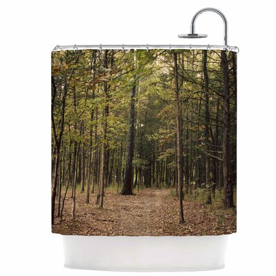 Forest Trees Shower Curtain
