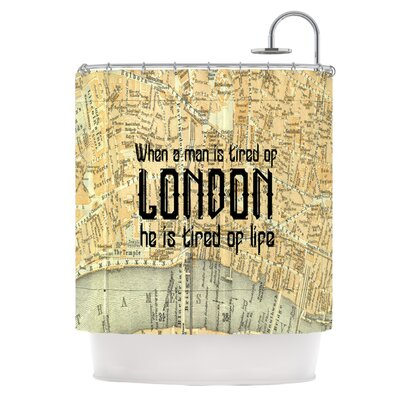 London Type Shower Curtain