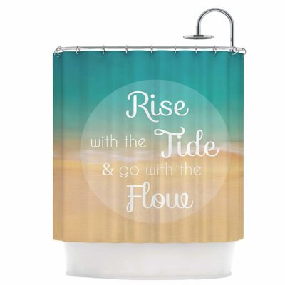Rise with The Tide Shower Curtain