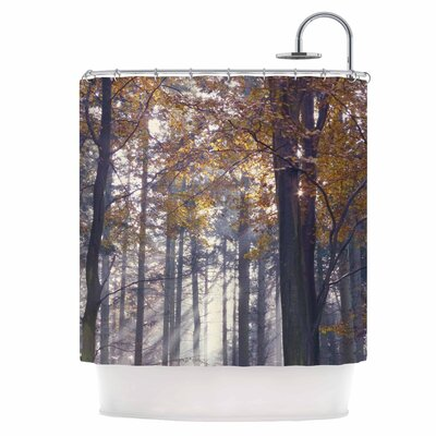 Autumn Sunbeams Shower Curtain
