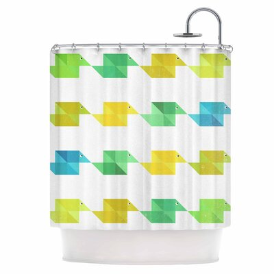 Duck Pattern Shower Curtain