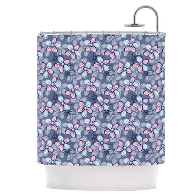 Flower Clusters Shower Curtain