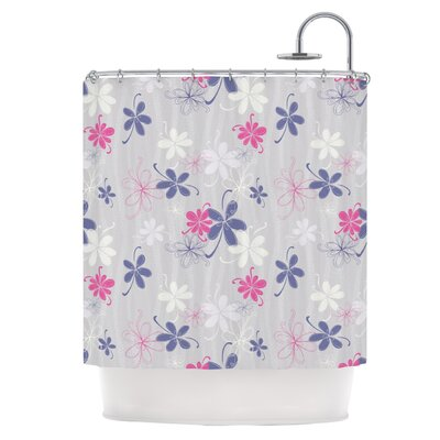 Lively Blossoms Shower Curtain