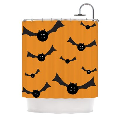 Going Batty Shower Curtain