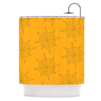 Spiderwebs Shower Curtain