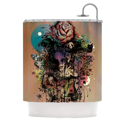 Doom and Bloom Shower Curtain