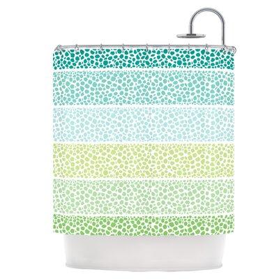 Zen Pebbles Shower Curtain