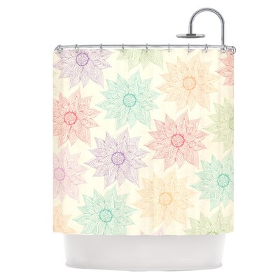Spring Florals Shower Curtain