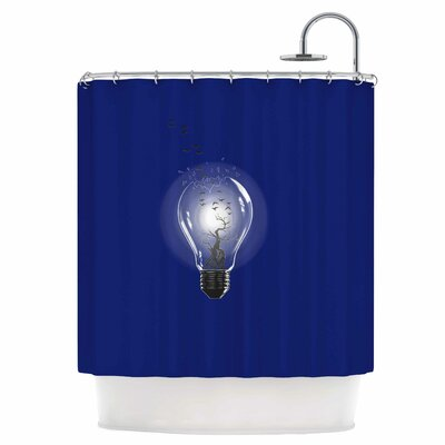 Bulb Shower Curtain