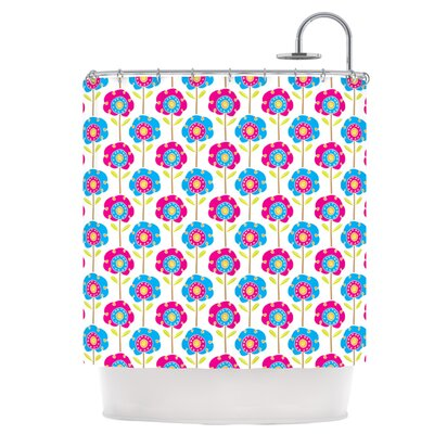 Lolly Flowers Shower Curtain
