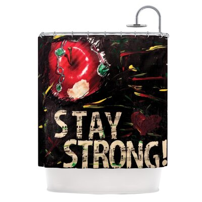 Stay Strong Shower Curtain