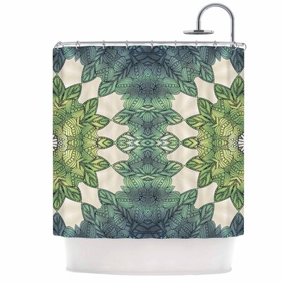Forest Leaves Shower Curtain