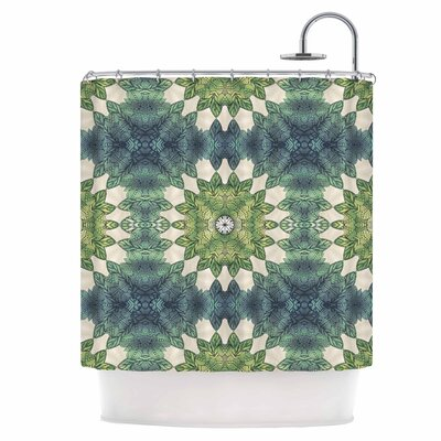 Leaves Repeat Shower Curtain