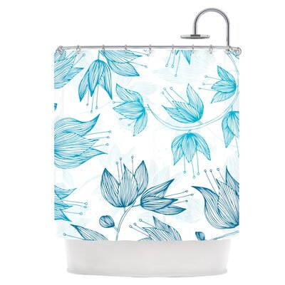 Biru Dream Shower Curtain