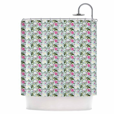 Romantic French Park Shower Curtain