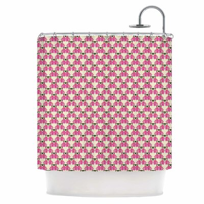 Rosea Shower Curtain