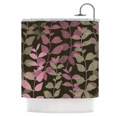 Leaves of Fantasy Shower Curtain