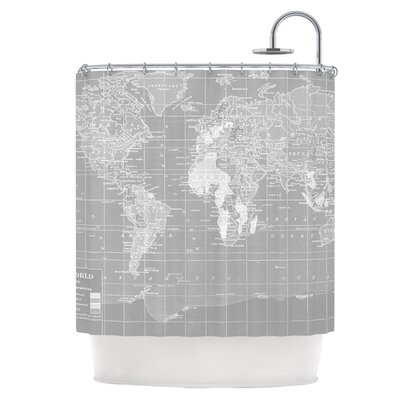 The World Shower Curtain
