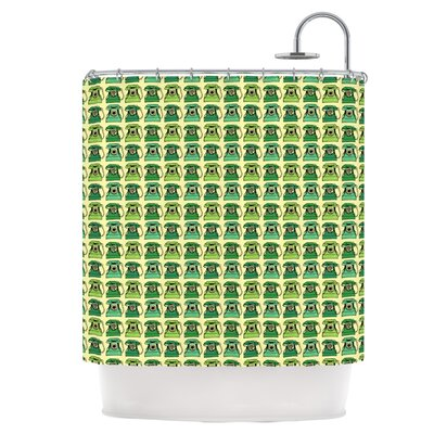 Vintage Telephone Shower Curtain