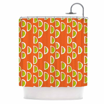 Geo Seed Shower Curtain