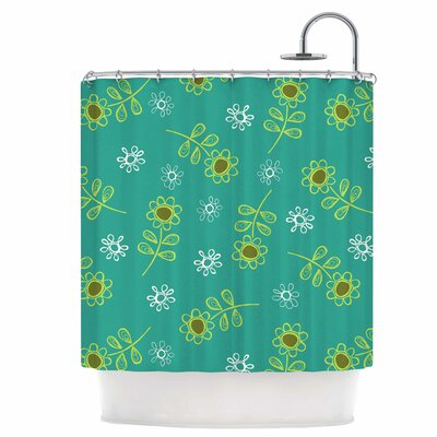 Ditsy Daisy Shower Curtain