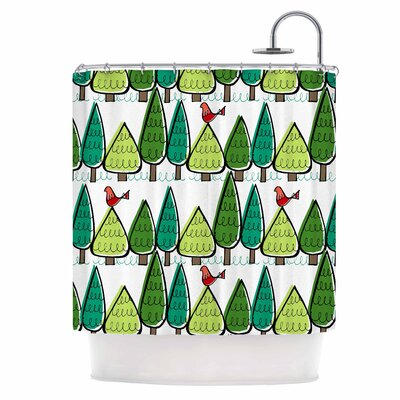 Vintage Christmas Shower Curtain