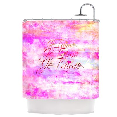 Je Taime II Shower Curtain
