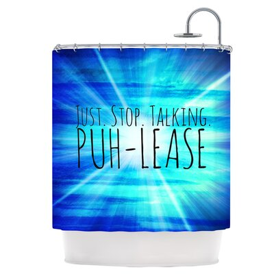 Puh-lease Shower Curtain